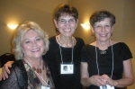 Kathy Woller, Ann Hamilton, and Carol Johnson